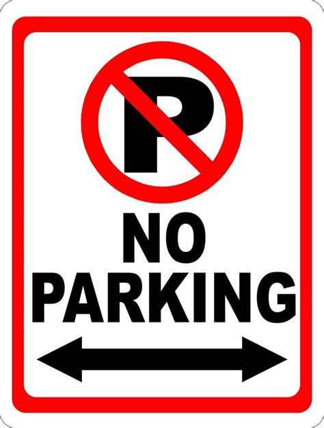 no parking signs template pleasurable no parking signs template best 25 ideas on