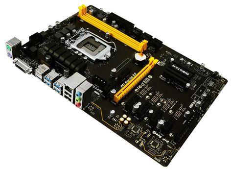 Motherboard Mobo Mining Rig P35 biostar tb250 btc review 8 gpu mining motherboard 1st mining rig