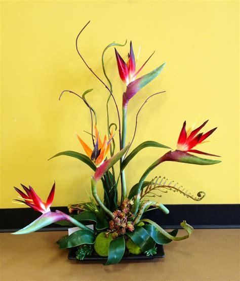 bird of paradise arrangement designed by arcadia floral bird of paradise tropical arrangement anytime orchids