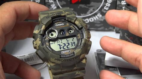 Casio G Shock Camouflage Series 2014 Gd 120cm 4dr Limited Edition casio g shock review and unboxing gd 120cm 5 woodland camouflage seires