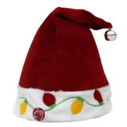 trim a home 174 musical light up santa s elf hat 12 in seasonal christmas seasonal decor