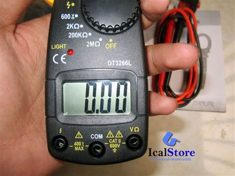Multimeter Digital Heles tang ere digital cl meter dt3266l ical store