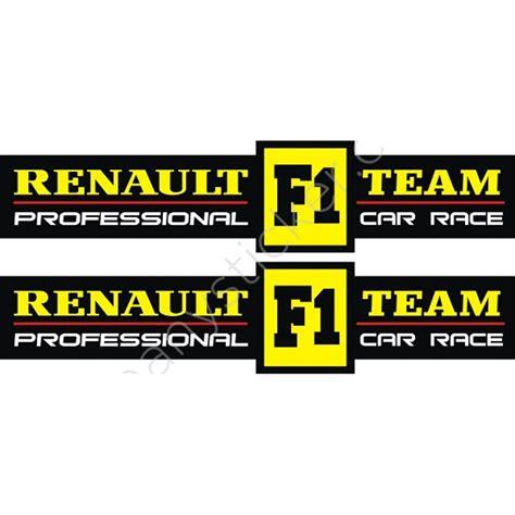 renault  team sticker