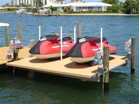 boat lift truck floating docks boat lifts docks decks seawall inspections