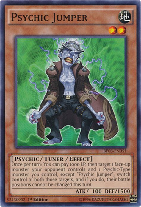 Tuner The League by Psychic Jumper Yu Gi Oh