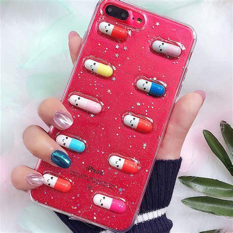 happy pills iphone case onyx bunny