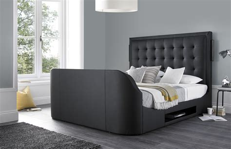 Tv Bed Frame Sale The Titan King Size Tv Bed Frame Tv Bed Store