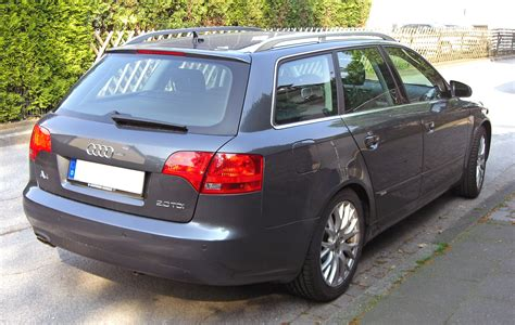 File:Audi A4 B7 Avant 20090424 rear Wikimedia Commons