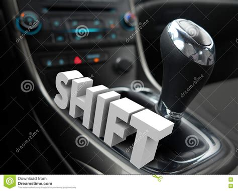 How To Change A Shifter by Gear Shift Driving Car Auto Change Direction