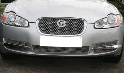 Jaguar Xf Grill Woven Lower Mesh Grill Set Jaguar Xf Lower Mesh Grill