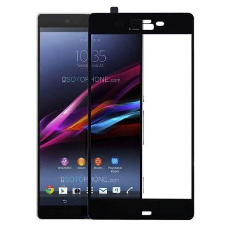 Antigores Carbon Screen Guard Protector Transparant Sony Xperia Z1 buy screen tempered glass sony xperia x