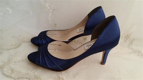 Navy Wedding Shoes by Wedding Shoes Bridal Shoes Blue Wedding Shoes Navy Wedding