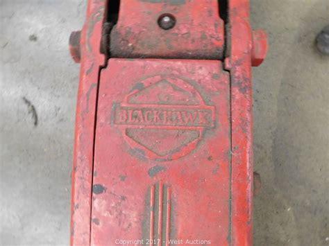 Blackhawk Floor by West Auctions Auction Liquidation Of Car Care Center A