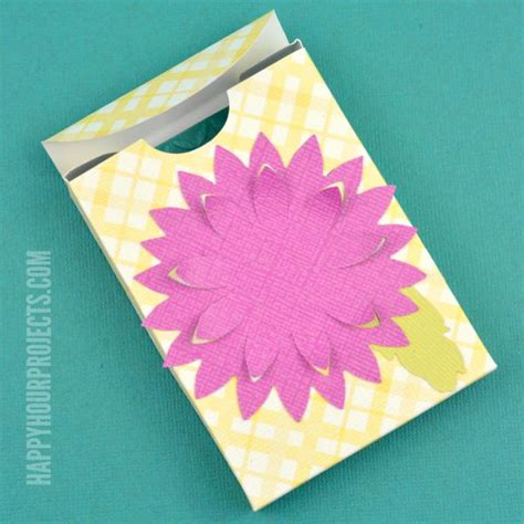 how to make paper jewelry boxes how to make a jewelry gift box happy hour projects