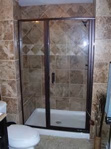 Euroview Shower Door Semi Frameless Swing Doors