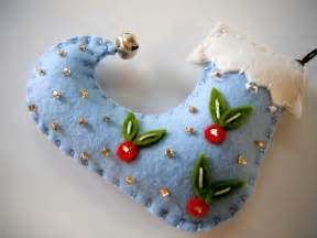 Handmade Felt Ornaments - felt ornaments made by mikistitch all made