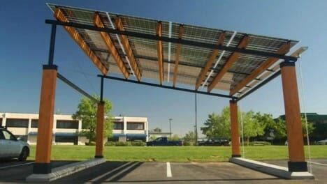 solar awnings solar panels that blend in with your home modernize