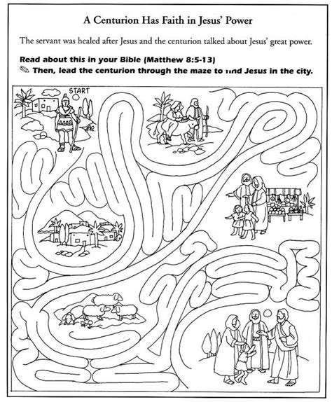 coloring page jesus heals centurion s servant 52 best images about jesus heals centurion s servant on
