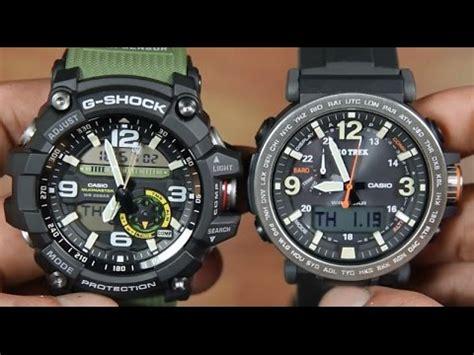 Casio G Shock Prg 270 casio g shock mudmaster gg 1000 1a3 vs protrek prg 600 1