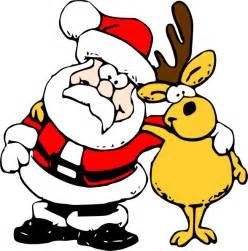 santa reindeer clip art clker vector clip art royalty free amp public domain