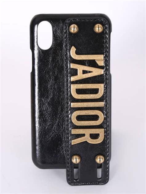 j adior crincled calfskin iphone x xs cover luxury bags