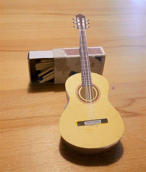 How To Make A Paper Guitar Model - 17 best images about papercraft on models
