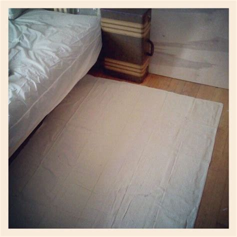 canvas drop cloth rug cheap rug solution canvas drop cloth with non skid backing spray glued on canvas can be dyed