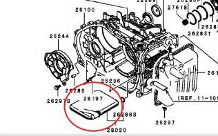 2003 Mitsubishi Galant Transmission Fluid 2003 Mitsubishi Eclipse Rs 2 4l The Transmission Pan
