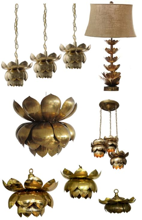 Lotus Flower Light Fixture Land Of The Lotus Eaters The Pursuit Of Style