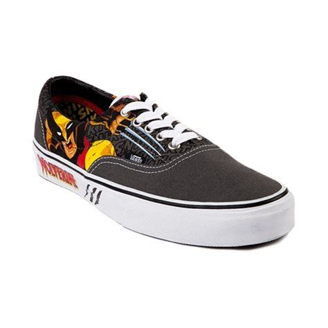 Sepatu Vans Era Marvel Comics vans era wolverine skate shoe gray white at journeys