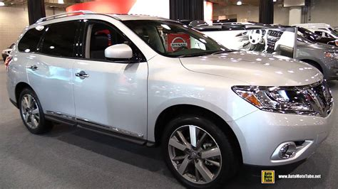 nissan pathfinder 2015 interior 2015 nissan pathfinder platinum awd exterior and