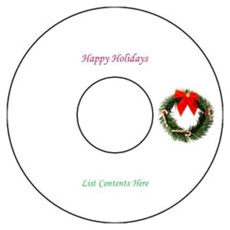 Free Avery 174 Template For Microsoft Word Cd Dvd Label 15692 18692 Avery 8942 Template Word
