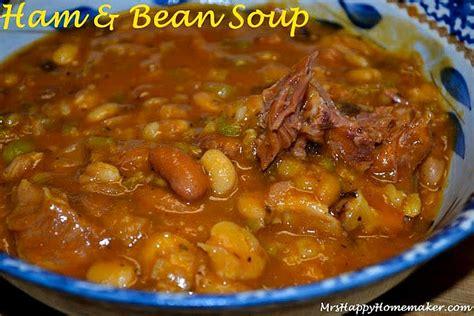 best ham best ham bean soup mrs happy homemaker
