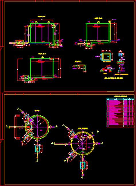 tank  store water dwg block  autocad designs cad