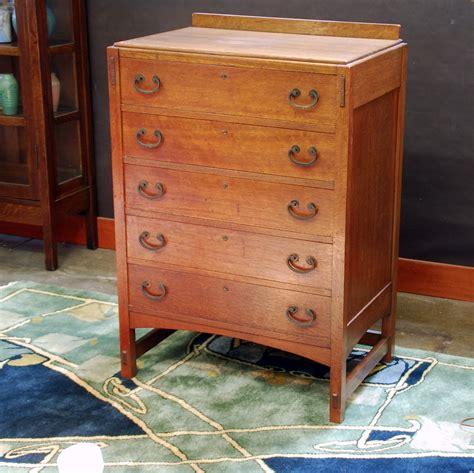 Mission Oak Dresser by Voorhees Craftsman Mission Oak Furniture Limbert Mission Oak Arts Crafts Highboy Chest