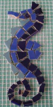 Horse Bedroom Ideas mosaic making crafty stuff mosaic insert seahorse