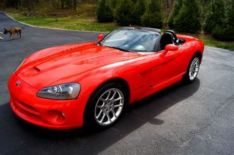 where to buy car manuals 2003 dodge viper spare parts catalogs buy used 2003 dodge viper srt 10 red convertible 2 door 8 3l one owner pristine in west