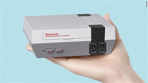 Nintendo Mini nintendo banks on nostalgia with re release of nes classic