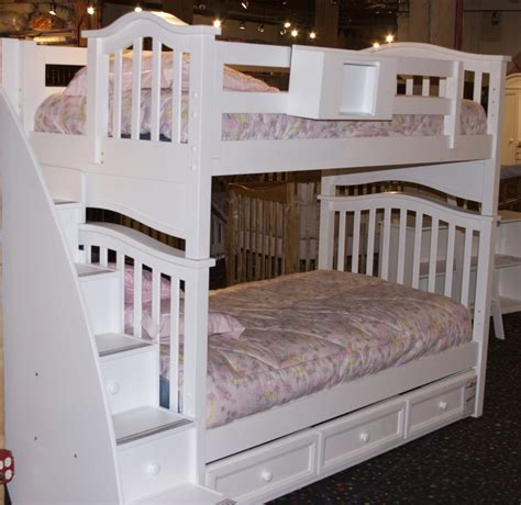 Bunk Beds Outlet Cambridge Bunk Bed W Staircase Drawers And