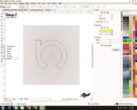 tutorial membuat logo komunitas tutorial cara mudah membuat logo menggunakan coreldraw