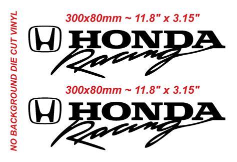 honda racing logo stickers www pixshark images