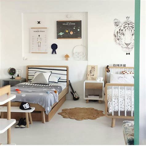 la perfecta habitaci 243 n infantil para dos hermanos decopeques