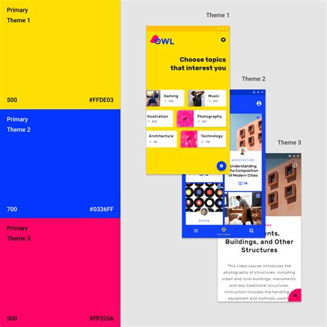 color material the color system material design