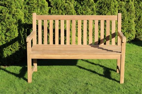 traditional garden bench traditional teak garden bench 130cm