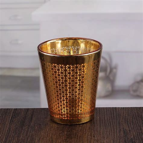 Decorative Candle Holders by Decorative Wall Candle Holders Pretty Golden Votive Candle