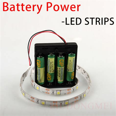 battery operated flexible led light strips sale dry battery powered dc5v led strip smd5050