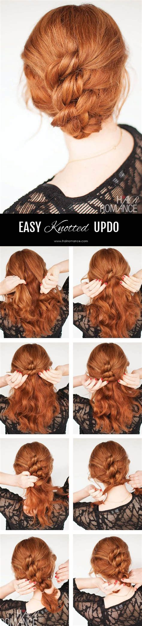 Hairstyle Tutorials For Hair by 10 Easy Hairstyle Tutorials For Hair Beep