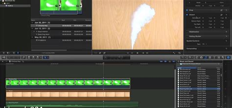 final cut pro chroma key how to use the chroma key green screen feature in final