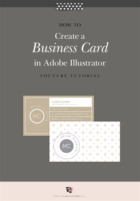 Adobe Illustrator Business Card Template Tutorial by How To Create A Business Card In Adobe Illustrator