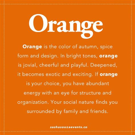 meaning of the color orange quotes about oranges quotesgram